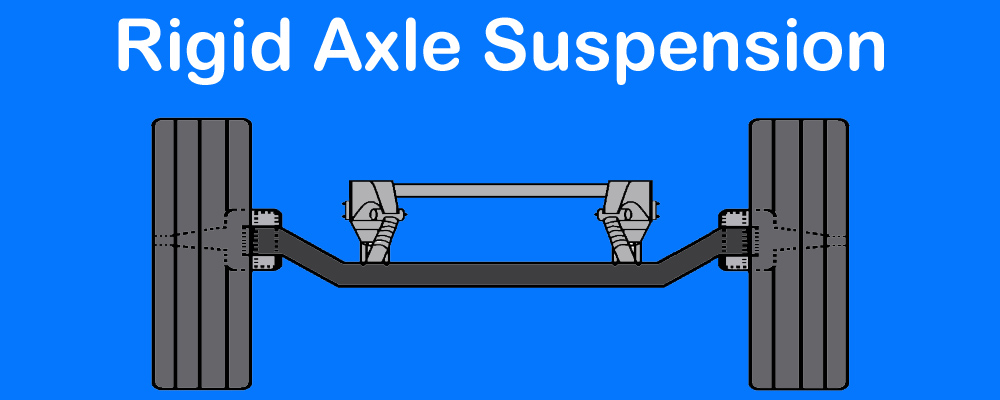Rigid Suspension title rigid front axle suspension system design and working explained