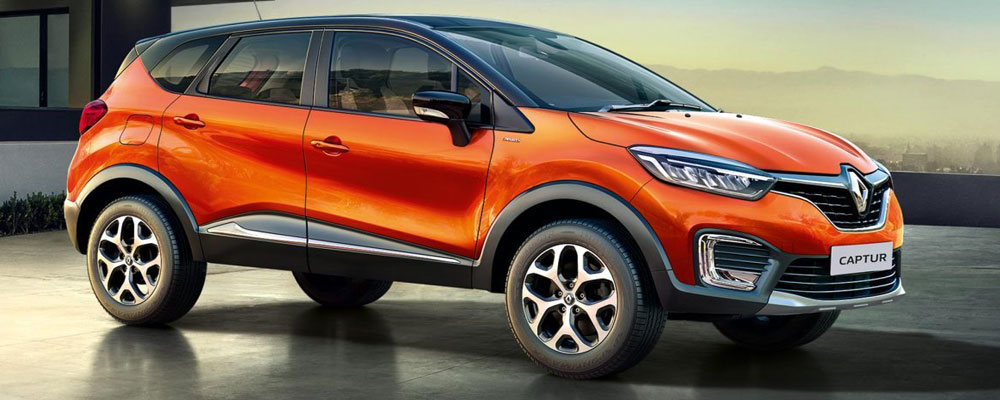 2017 renault captur launched in india with a starting. Black Bedroom Furniture Sets. Home Design Ideas