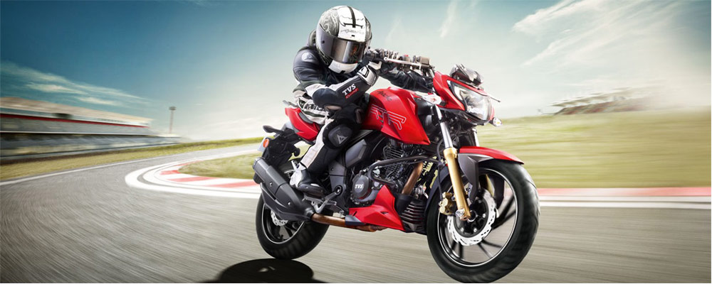 TVS Apache RR 310 (Courtesy: TVS Motors)