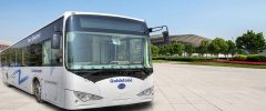 Goldstone BYD electric bus