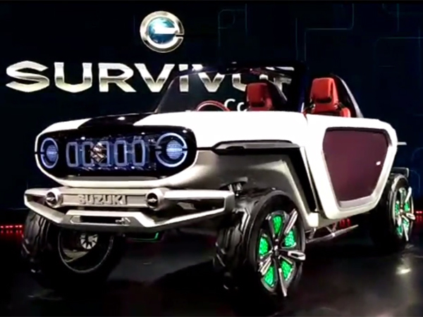 Maruti e-Survivor electric car
