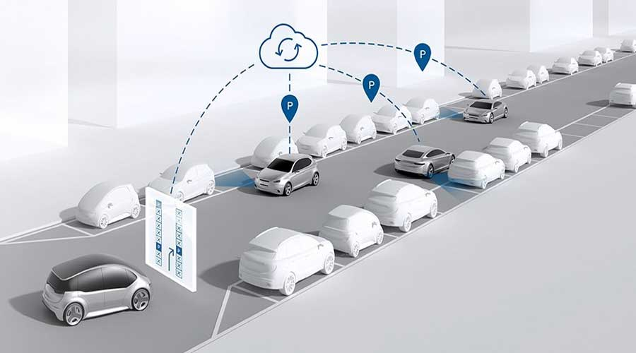 Bosch connected mobility community parking