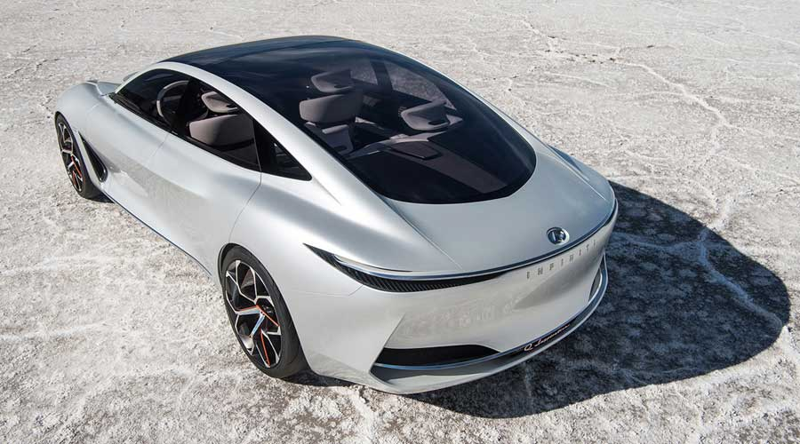 Infiniti Q Inspiration concept top view