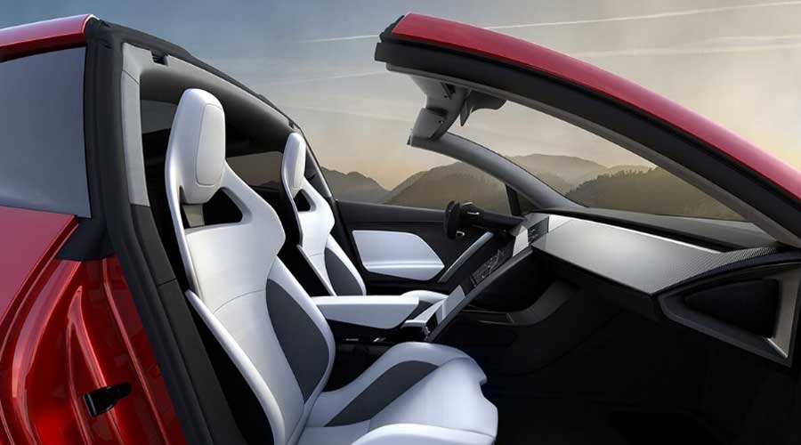 Tesla roadster interiors
