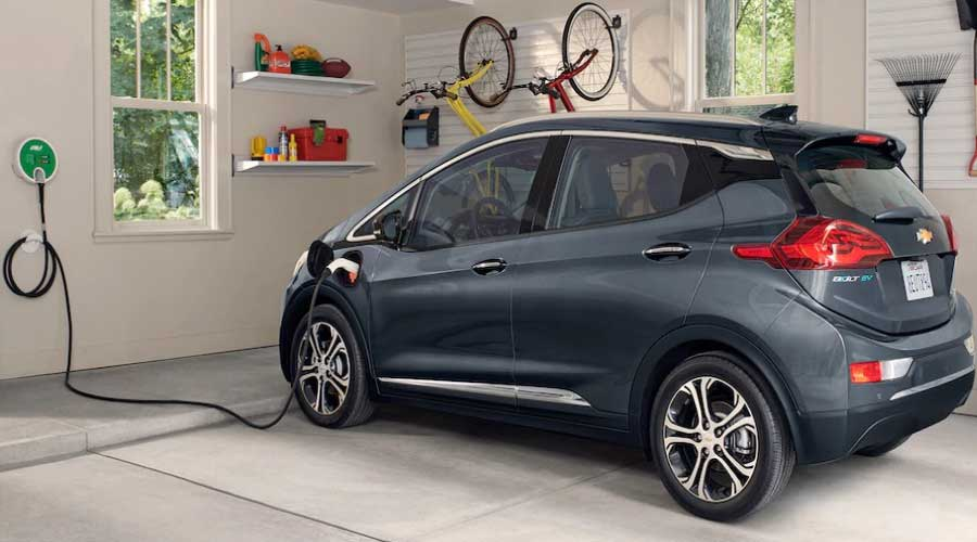 Chevy Bolt EV Charging