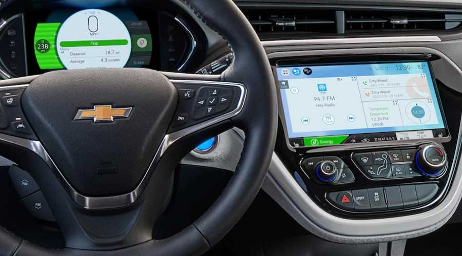 Chevrolet Bolt EV Dashboard