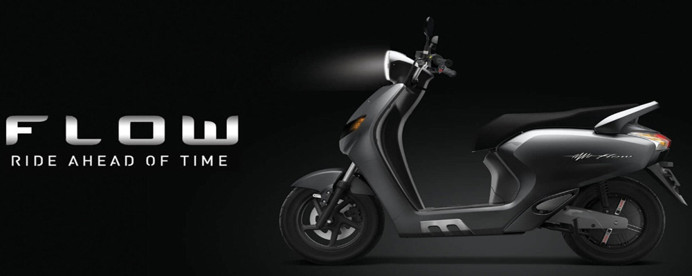 Flow: AI-powered electric scooter (Courtesy: Flow)