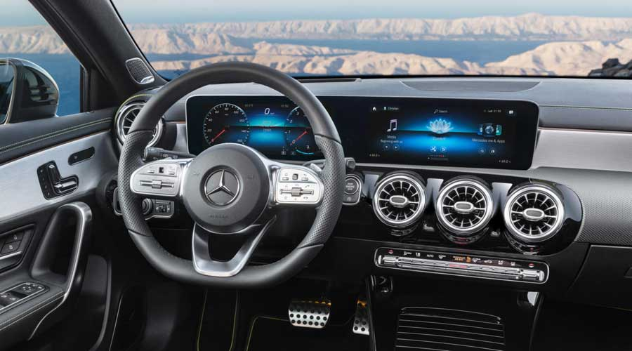 Mercedes Benz new A-class 2018 interiors