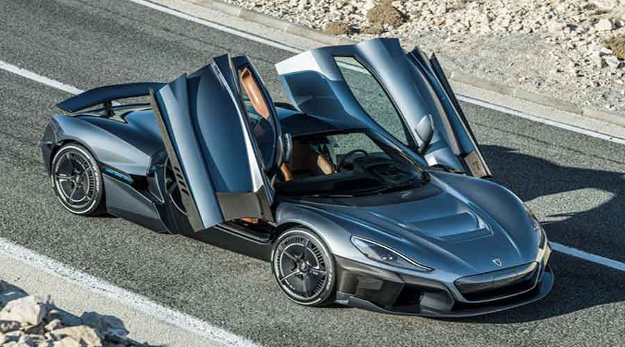 Rimac C Two Doors