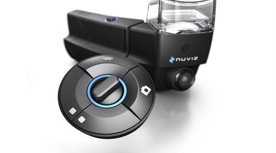 Nuviz motorcycle head-up display controller