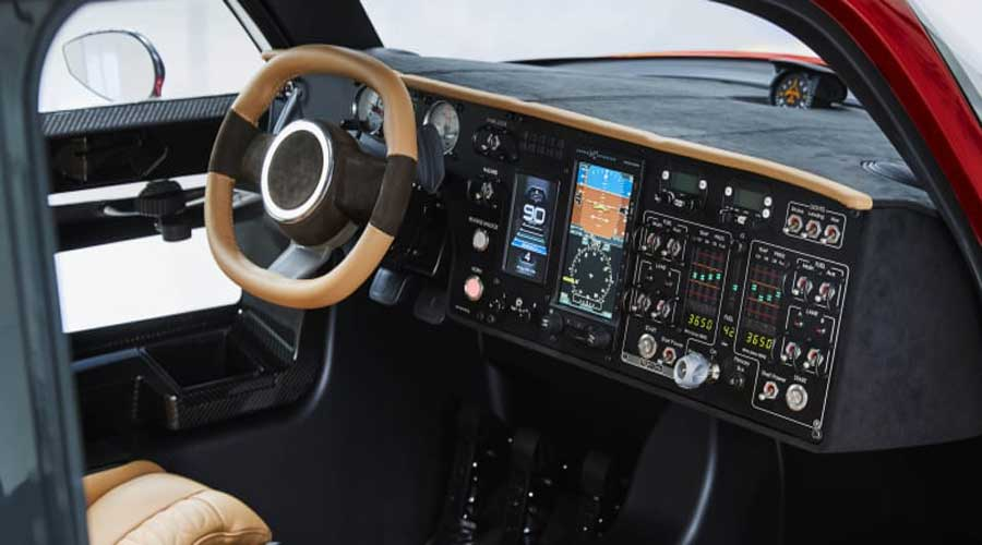 PAL-V flying car interiors