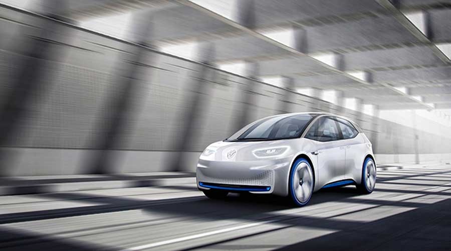 Volkswagen ID concept car side view