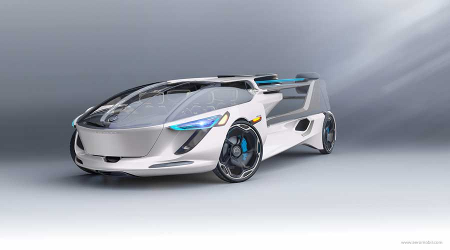 Aeromobil 5.0 VTOL Flying Car