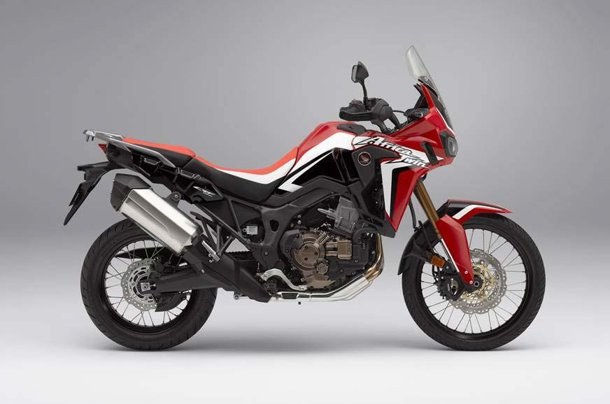 2018 Honda Africa Twin side view