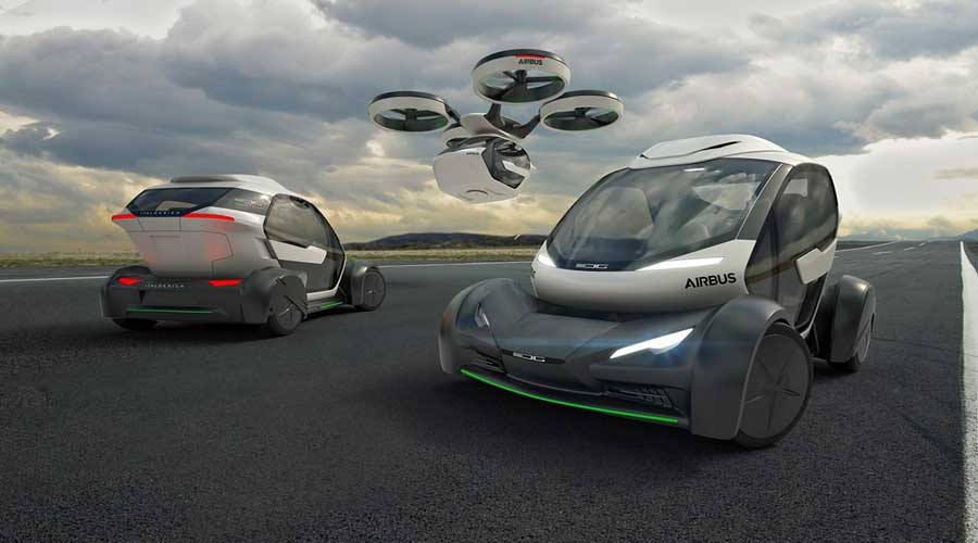 Pop.Up Next Flying Taxi System