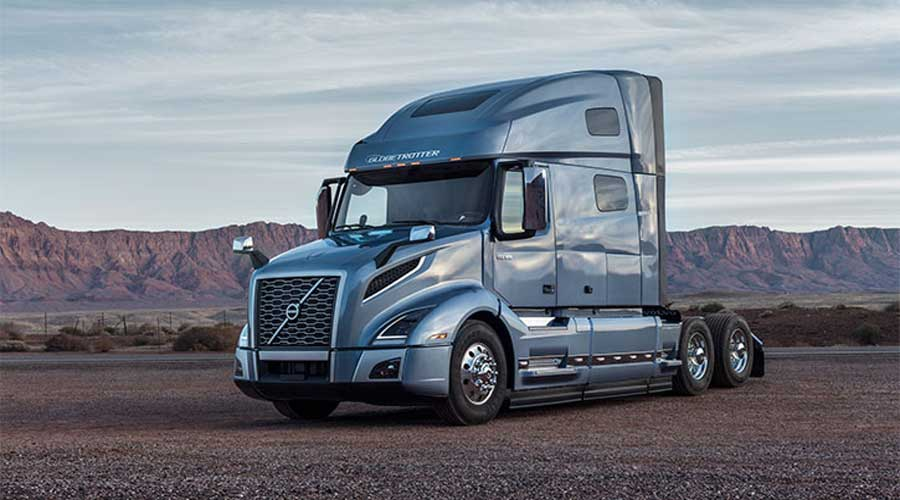 Volvo VNL Trucks Sideview