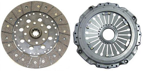 Automotive Clutch plate and Pressure plate (Courtesy: Ceekay Daikin)