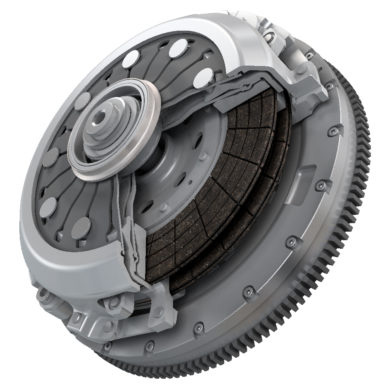 Dual clutch (Courtesy: Valeo)
