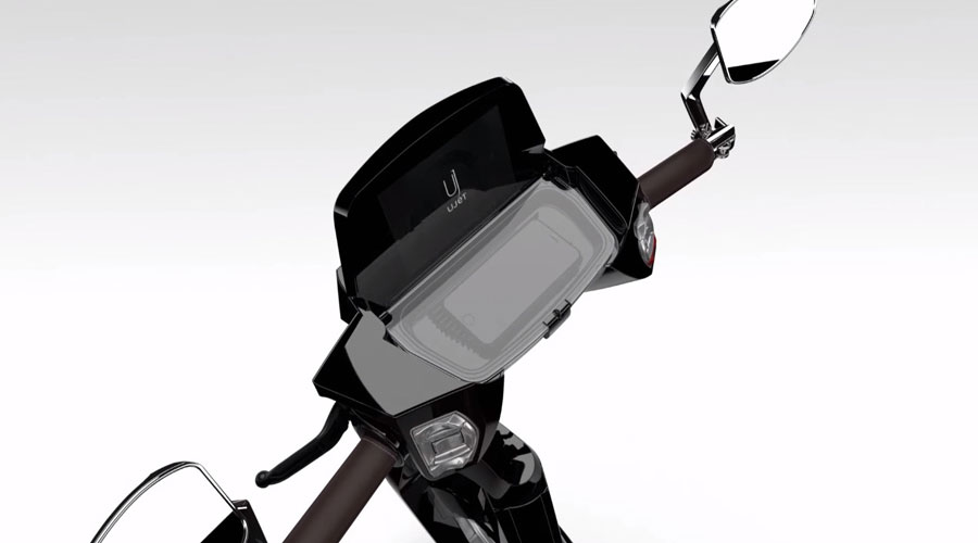 Ujet electric scooter display