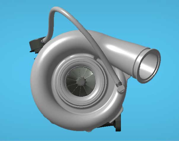Wastegate turbocharger (Image Courtesy: Honeywell)