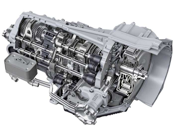 ZF Dual Clutch Transmission (Courtesy: ZF)