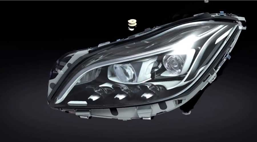Mercedes Benz Multibeam LED