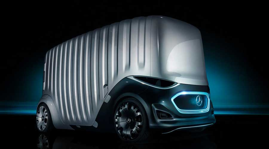 Mercedes Benz Vision Urbanetic Cargo Module