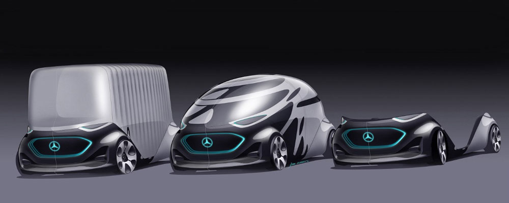 Mercedes Benz Vision Urbanetic