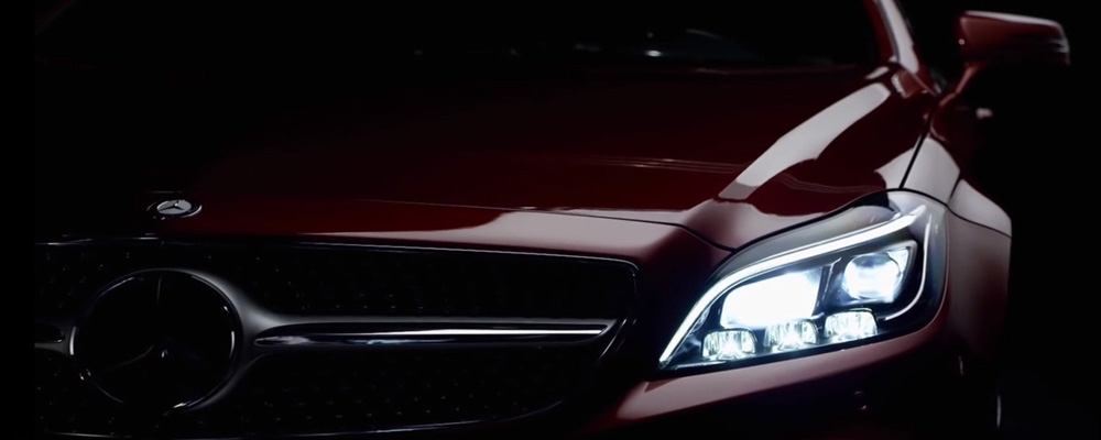 Mercedes Benz lighting technology