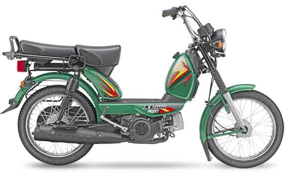 TVS XL 100 moped (Courtesy: TVS Motors)