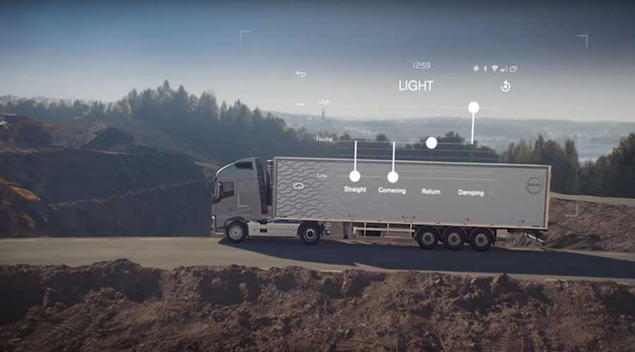 Volvo dynamic steering personal settings