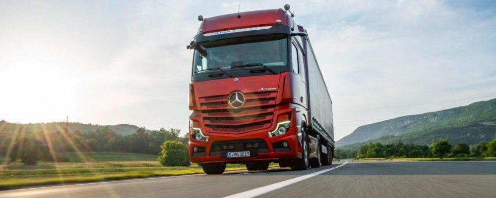 Mercedes Benz Actros 2019: The New Age Trucking - CarBikeTech