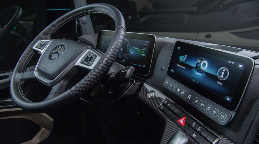 Mercedes Benz Actros 2019 Interiors