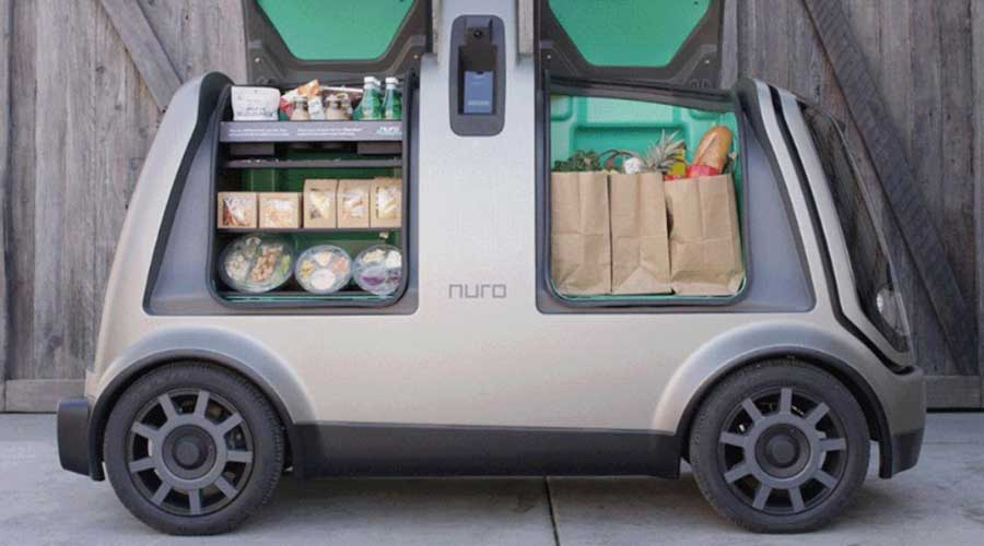 Nuro self-driving delivery vans