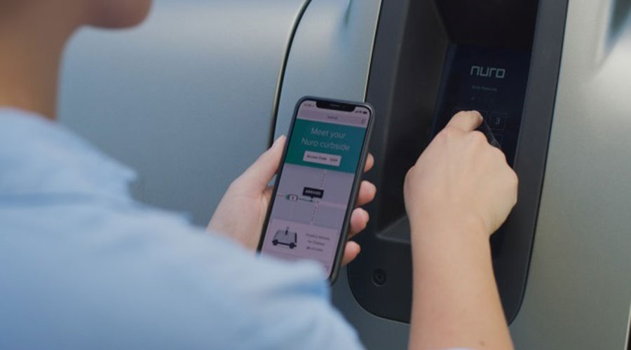 working of Nuro self driving technology