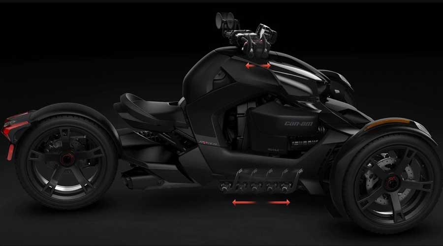 Can-Am Ryker side view