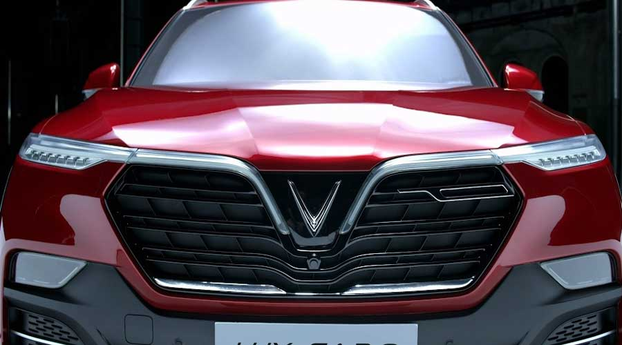 Vinfast Lux SA2.0 front view