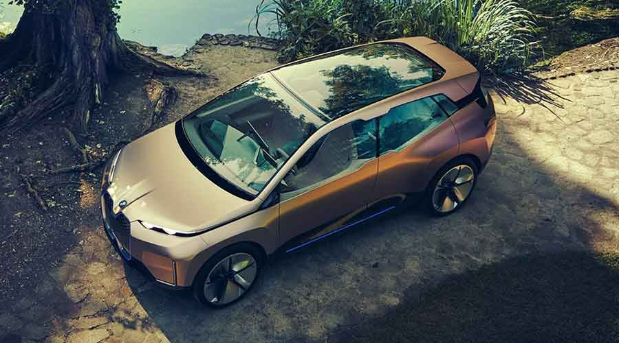 BMW Vision iNext concept exteriors