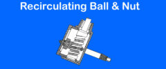 Recirculating Ball & Nut
