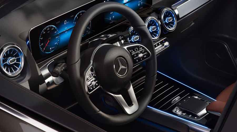 Mercedes Benz glb interiors