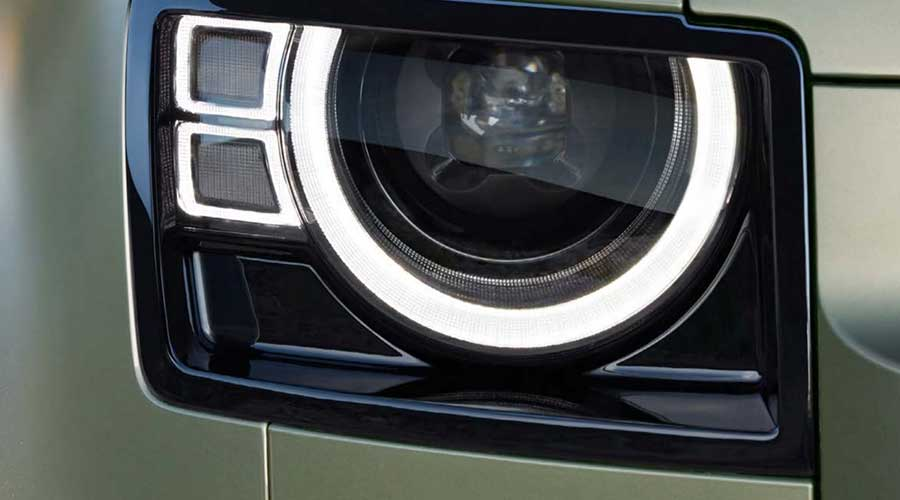 defender headlights