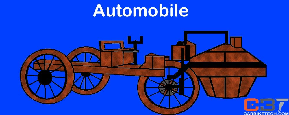 What is an automobile or motor vehicle?