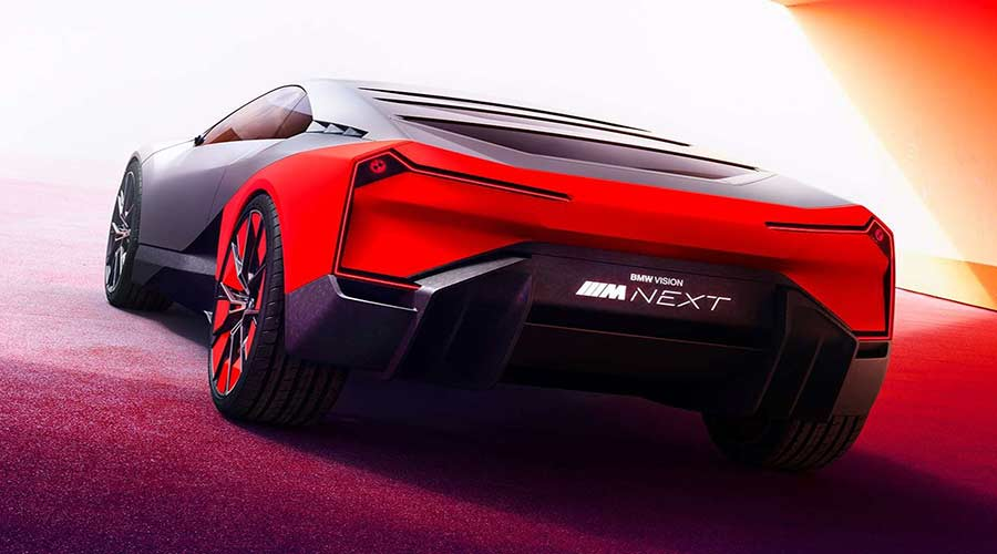 BMW Vision M Next Rear View