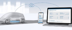 Bosch battery in the cloud