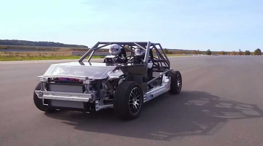 Bosch rolling chassis testing