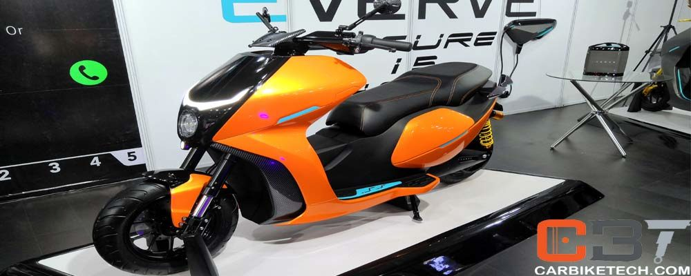 Electric scooters & motorcycles at Auto Expo 2020