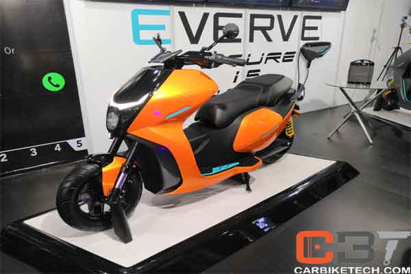 Everve electric scooters & motorcycles