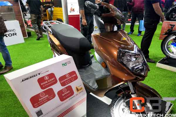 Evolet Derby electric scooters & motorcycles