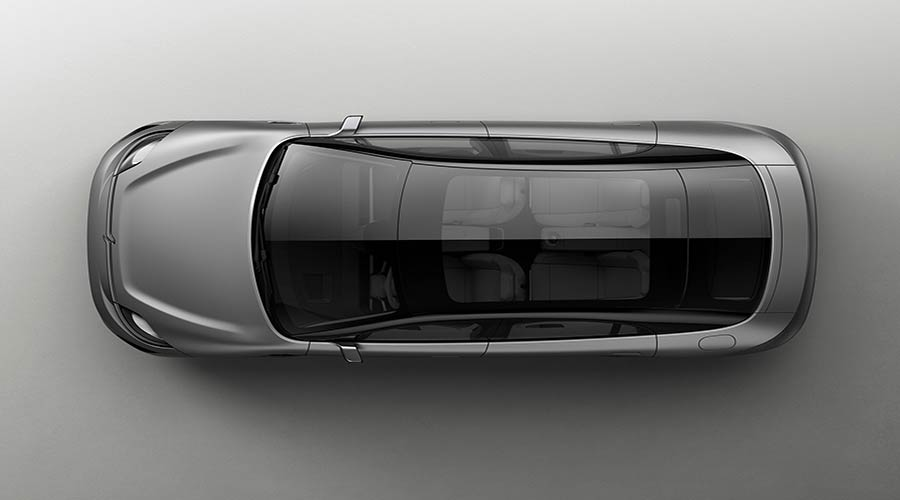 vision-s concept top view
