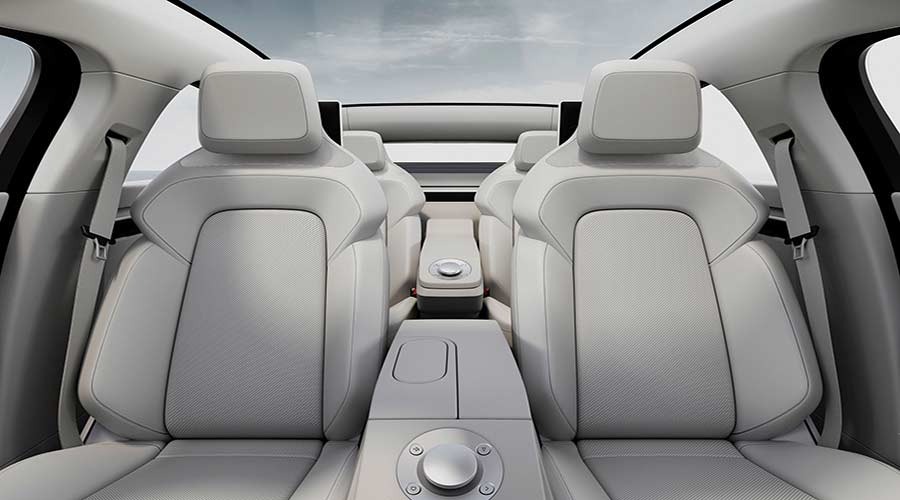 Sony vision-s concept seats